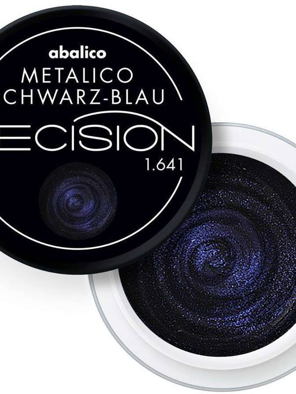 Metalico Schwarz Blau
