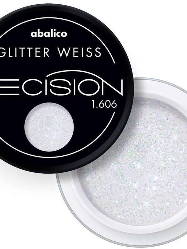Glitter Weiss