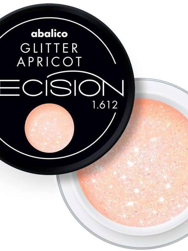 Glitter Apricot