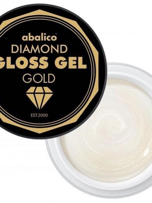 Diamond gloss gel gold
