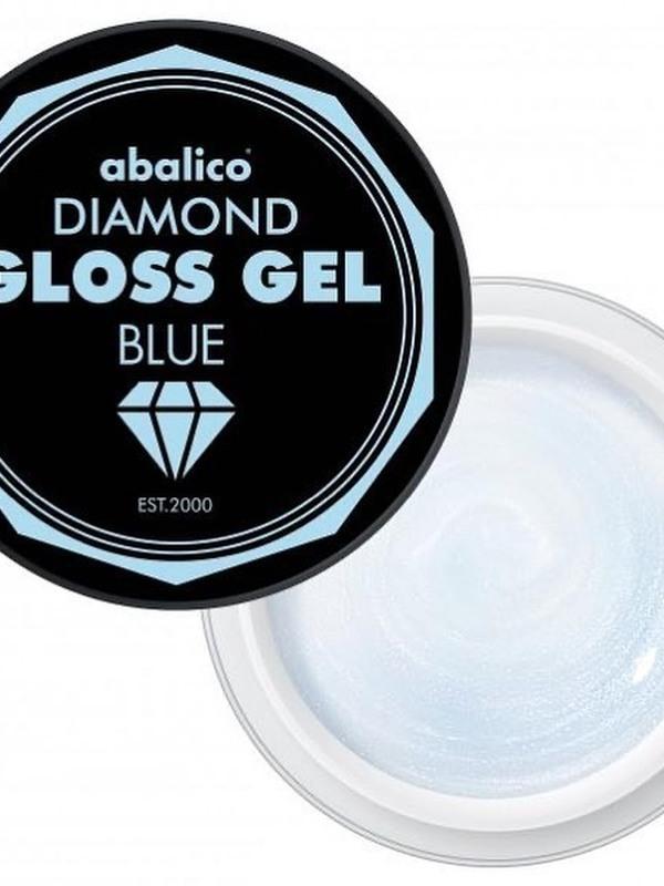 Diamond gloss gel blue