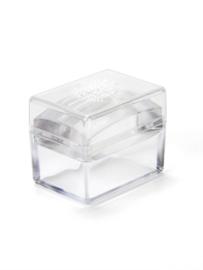 Stamper ice cube
