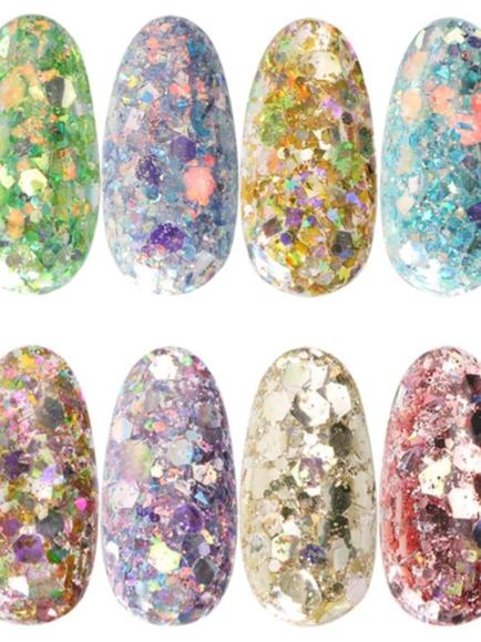 Big mix holo glitter set