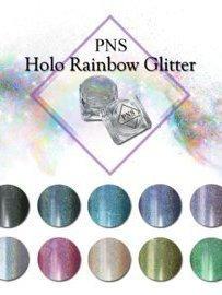 Holo Rainbow glitter set