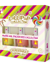 Set kids nagellak lollipop