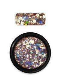 Rainbow holo glitter mix 2 gold