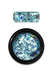 Rainbow holo glitter mix 4 turquise