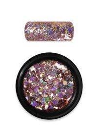 Rainbow holo glitter mix 6 rosegold