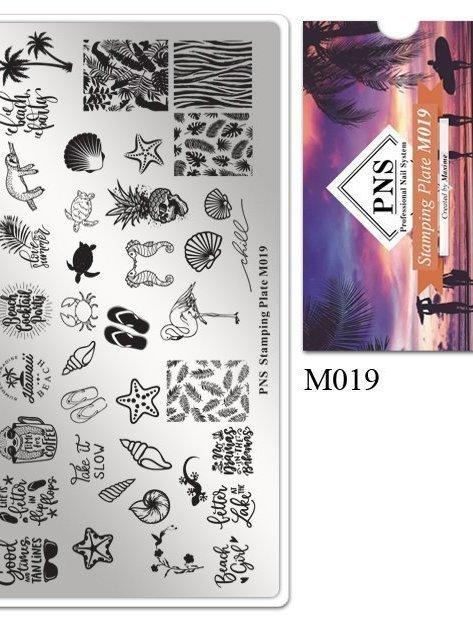 Stempelplaat M019