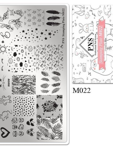 Stempelplaat M022
