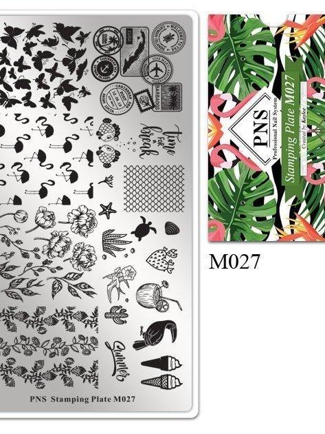 Stempelplaat M027