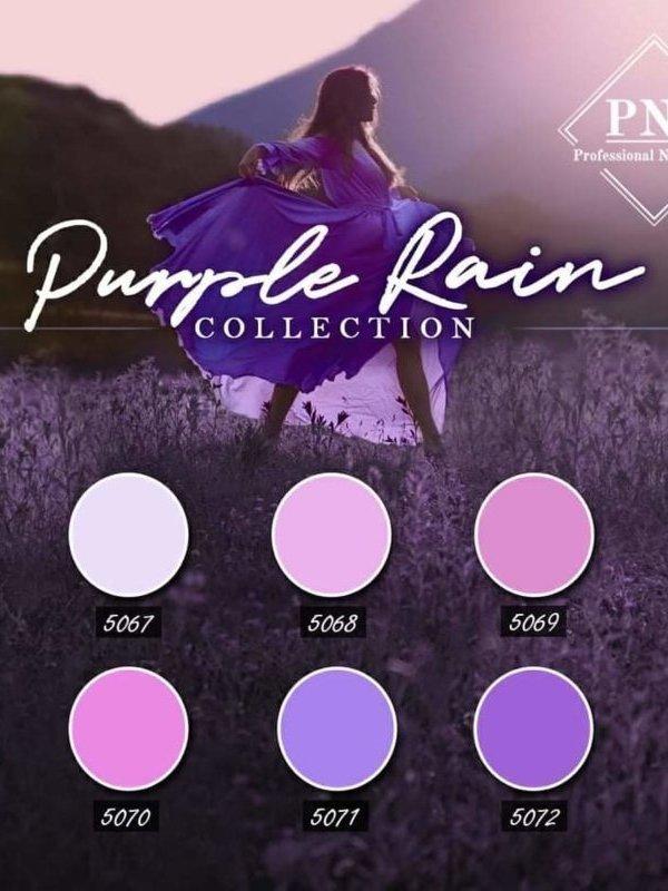 Purple Rain Collection 5067 tm 5072 + gratis glitterflake