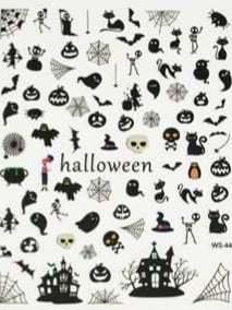 Halloween sticker WS-44